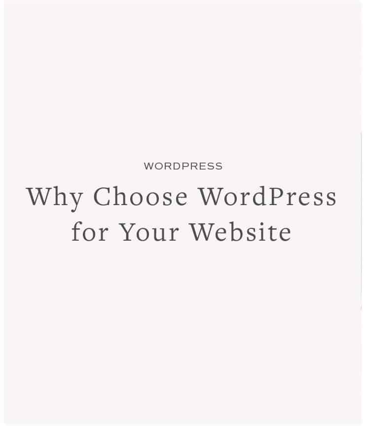 Why Choose WordPress for Your Website
